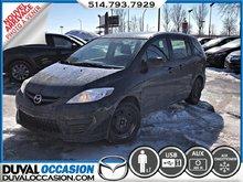 2010 Mazda Mazda5 GS + CLIMATISATION + JAMAIS ACCIDENTÉ