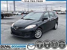 Mazda Mazda5 GS + CLIMATISATION + JAMAIS ACCIDENTÉ 2010