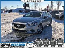 2017 Mazda Mazda6 GX + NAVIGATION + SIÈGES CHAUFFANTS