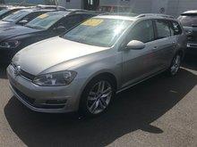 Volkswagen Golf Sportwagon ***HIGHLINE*** CUIR TOIT NAV CAMÉRA  MAGS 2016