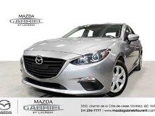 Mazda Mazda3 GX SPORT +  CAMERA DE RECUL + BLUETOOTH 2016