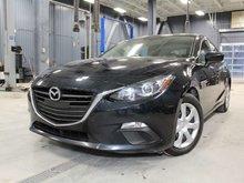 2016 Mazda Mazda3 SPORT GX + A/C +   + CAMERA DE RECUL