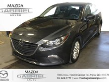 Mazda3 GS+CAM+KEYLESS BACK UP CAMERA+ HEATED SEATS+ AC+ DETECTEUR ANGLE MORT + MAGS+ BLUETOOTH+ KEYLESS ENTRY    VEHICULE INSPECTER ET  2016