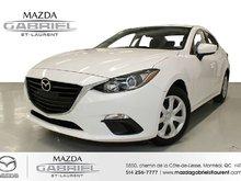 Mazda3 GX + A/C + UN SEUL PROPRIO +  CAMERA DE RECUL 2016