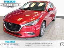 Mazda Mazda3 GT+GPS+CUIR+CAM 1 PROPRIO ET JAMAIS ACCIDENTÉ!!!!!!!!!! 2018