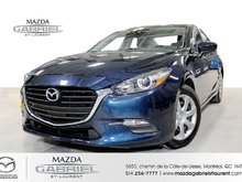Mazda Mazda3 GX+ BLUETOOTH+  CAMERA DE RECUL +JAMAIS ACCIDENTE 2018