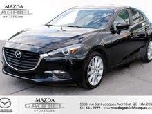 2018  Mazda3 GT +BLUETOOTH+CRUISE+CAMERA DE RECUL