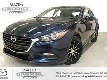 Mazda3 GS + JANTES +  JAMAIS ACCIDENTE + SEULEMENT 36000KM 2018
