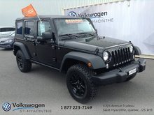 Jeep Wrangler Unlimited Willys Wheeler+2 TOITS+MAGS+MANUELLE 2016