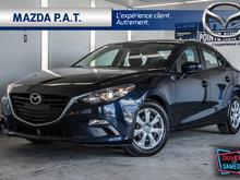 2016 Mazda Mazda3 G JAMAIS ACCIDENTÉ