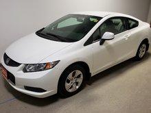 2013 Honda Civic LX Warranty See Notes