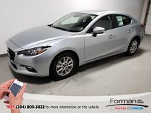 2018  Mazda3 GS Save Htd Seats Camera HTD Steering Sunroof