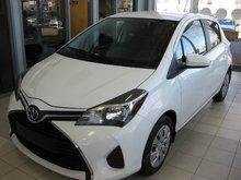 2015 Toyota Yaris LE A/C 8 PNEUS HIVERS ETE