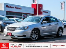 2012 Chrysler 200 LX|ACCIDENT FREE