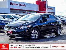 2014 Honda Civic LX|NO ACCIDENTS