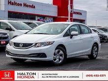 2014 Honda Civic LX|SERVICE HISTORY ON FILE