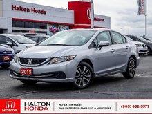 2015 Honda Civic EX|SERVICE HISTORY ON FILE|ACCIDENT FREE