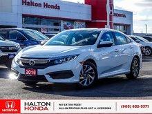 2016 Honda Civic EX|SERVICE HISTORY ON FILE
