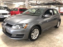 2015 Volkswagen GOLF 3DR Trendline 5spd w/ Cold Weather & Cruise Pkg.