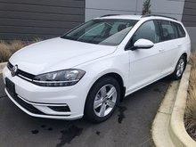 2019 Volkswagen Golf wagon Comfortline 4Motion 6spd w/ Drivers Assist Pkg.