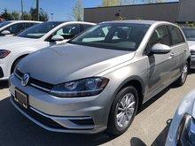 2019 Volkswagen GOLF 5DR COMFORT 5DR 1.4L 147HP 6SP MANUAL