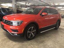 2018 Volkswagen Tiguan Highline 4Motion w/ 3rd Row Pkg.