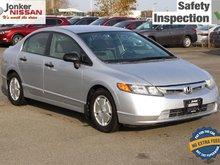 2008 Honda Civic Sedan DX-G 5sp
