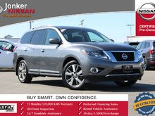 2016 Nissan Pathfinder Platinum V6 4x4 at