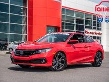 2019 Honda CIVIC CPE SPORT GARANTIE LALLIER DE 10 ANS OU 200,000KM MOTOPROPUL