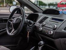 2010 Honda CIVIC DX G GARANTIE 10ANS/200,000 KILOMETRES* 93003A TQ NOIR