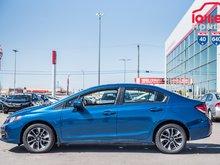 2015 Honda CIVIC  EX EX/10ANS /200,000 DE GARANTIE * P4712  BLEU