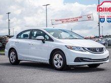 2015 Honda CIVIC SDN LX GARANTIE 10ANS/200,000 KILOMETRES* P4831 BLANC