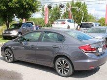 2015 Honda Civic Sedan EX / HONDA CANADA CERTIFIÉ 7 ANS/160KM Toit Ouvrant et Sieges Chauffants!