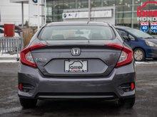 2017 Honda CIVIC SDN LX LX/GARANTIE 10ANS 200,000 KILOMETRES* P4640  GRIS