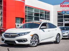 2017 Honda CIVIC SDN EX GARANTIE LALLIER HONDA 10 ANS OU 200,000KM MOTOPRO P4858  BLANC
