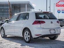 2016 Volkswagen GOLF S IMPECCABLE/2SET DE MAG ETE HIVER P4559A   BLANC