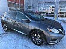 Nissan Murano SV ENSEMBLE TECHNOLOGIE TOIT PANORAMIQUE DEMARREUR 2015