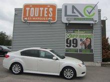 Subaru Legacy 3.6R w/Limited Pkg 2011