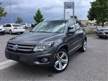 2015 Volkswagen Tiguan Highline 6sp at Tip 4M