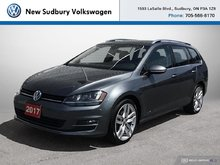 2017 Volkswagen GOLF SPORTWAGEN HIGHLINE 4MOTION