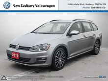 2016 Volkswagen Golf Sportwagon Comfortline 1.8 TSI