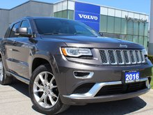 2016 Jeep Grand Cherokee Summit All Wheel Drive