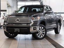 2015 Toyota Tundra 4x4 Dbl Cab Ltd 5.7 6A