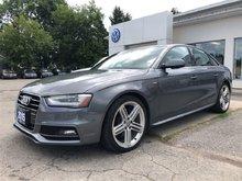 2015 Audi A4 2.0T Technik plus....QUATTRO..S_LINE