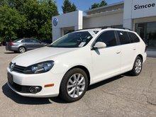 2014 Volkswagen Golf wagon Comfortline**DIESEL**RARE FIND