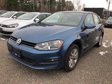 2016 Volkswagen Golf Comfortline With Connecti