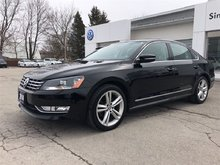 2014 Volkswagen Passat Highline- NAV, REAR CAMERA, LOW KMS