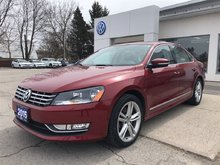 2015 Volkswagen Passat 1.8 TSI Highline, NAV, REAR CAMERA, ONE ONWER