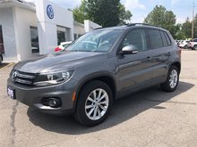 2015 Volkswagen Tiguan Comfortline, SUNROOF, HEATED SEATS AWD