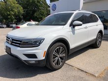 2018 Volkswagen Tiguan Highline**TECH PACKAGE**3RD ROW SEATING